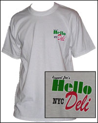 White Hello-Deli T-Shirt